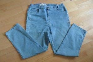 Charmant Skinny Jeans neon blue