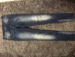 Amisu Pantalone peg-top blu
