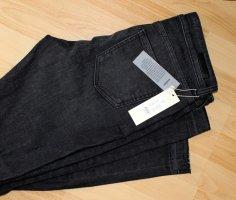 Jeans, dunkelgraue