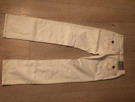 Bisou Bisou Five-Pocket Trousers natural white