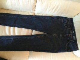 Angels Stretch jeans donkerblauw Katoen