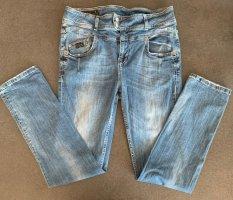 Good Morning Universe Workowate jeansy niebieski