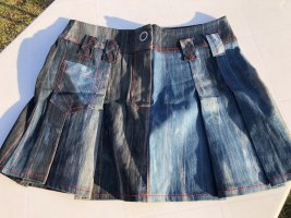 Jeans-Faltenrock, Minirock, Größe XS, Nagelneu