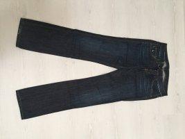 Freesoul Jeans a gamba dritta blu scuro Cotone