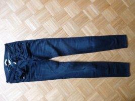 Jeans Gr. 25 Fornarina dunkelblau