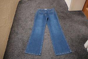 #Jeans, Gr. 38, #dunkelblau, #L.O.X., #Markenmode, #hochwertig, #High Waist