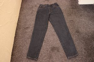 Carrot Jeans black cotton