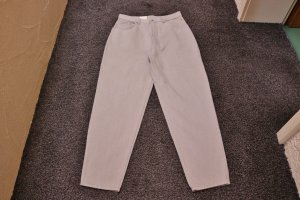 Carrot Jeans beige cotton