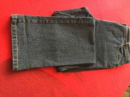 Cassis Collection Jeansy ze stretchu ciemnoszary Bawełna