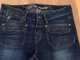 Esprit Boot Cut Jeans dark blue
