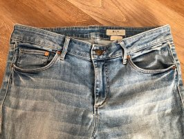 H&M Tube Jeans azure-blue