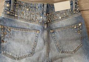 Jeans high waist Mom The Kooples Nieten Größe 25