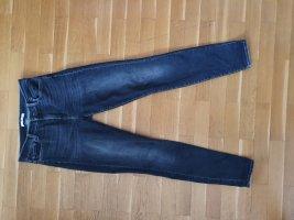 7 For All Mankind Pantalón de cintura alta gris