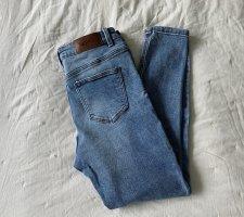 Noisy May Jeans skinny blu acciaio