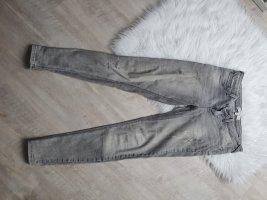 Mango Jeans cigarette gris