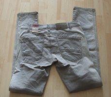 Jeans Hose von NILE - Gr. S/M (S+) - hellgrau