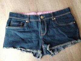Denim Co. Hot pants blauw