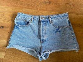 Forever 21 Denim Shorts cornflower blue-steel blue