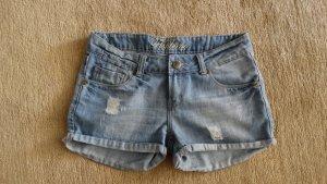 Fishbone Short en jean multicolore