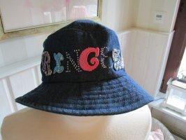 Disney Cappello a falde larghe grigio ardesia-blu Cotone