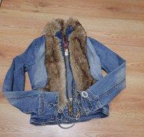 Baby Phat Denim Jacket steel blue cotton