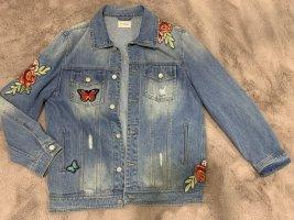 Denim Pimkie Denim Jacket cornflower blue-red