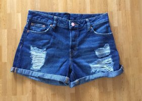 Jeans Jeansshort blau Monki neu Größe 28 kurze Hose