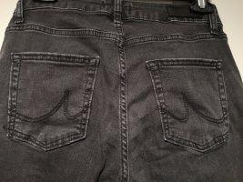 LTB Jeansy z prostymi nogawkami czarny-antracyt