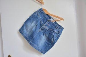 Jeans- Minirock