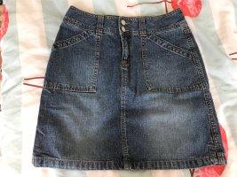 Crazy World Denim Skirt cornflower blue