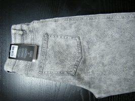 Madeleine Jeans slim fit grigio chiaro-argento Cotone