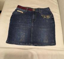 Desigual Jeansowa spódnica Wielokolorowy