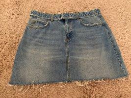 Zara Gonna di jeans blu acciaio