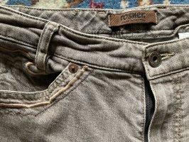 Rosner Jeansy z prostymi nogawkami szaro-brązowy