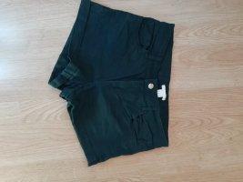 H&M Denim Shorts dark green