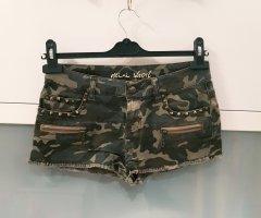 Jeans Short Camouflage Nieten