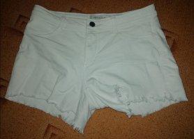 Only Pantaloncino di jeans bianco