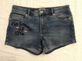 Jeans * Short * Only * 29 * Falmingo Applikation * NEU