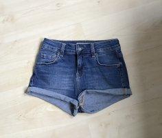 Subdued Short en jean bleu acier coton