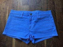 American Apparel Spijkershort neon blauw