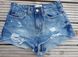 Tally Weijl Shorts azure cotton