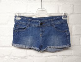 Jeans Shorts Hotpants Blau Used Look Tally Weijl Gr. L/40