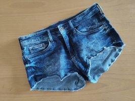 H&M Short blauw-staalblauw