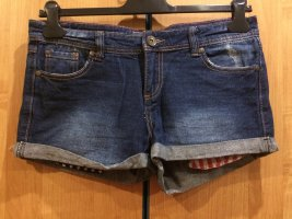 Jeans Shorts, Innentaschen im Amerika Look