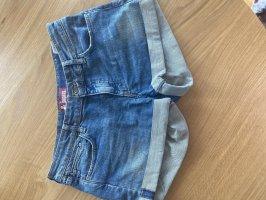 Jeansowe szorty Wielokolorowy
