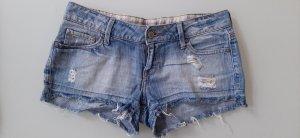 Mango Jeans Short en jean multicolore