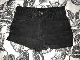 Jeans Shorts schwarz H&M