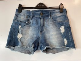 Jeans Sorts Used Look