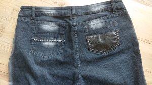 Basic Line Jeans met rechte pijpen veelkleurig