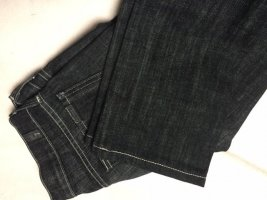 7 For All Mankind Jeans coupe-droite noir